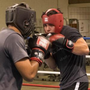 Nadége Boxe à l'Académie Tiozzo